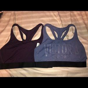 2 Victoria's Secret sports bras!